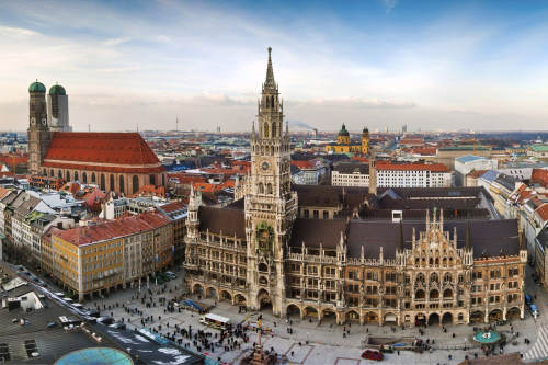 München in Deutschland Live Streaming Webcams Online