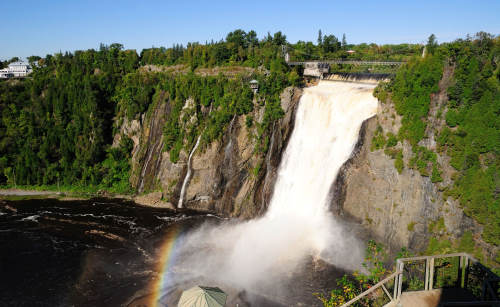 Montmorency-Fall - Quebec - Kanada