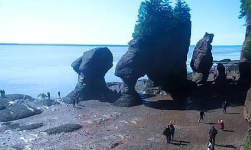 Hopewell Rocks Park - New Brunswick - Kanada