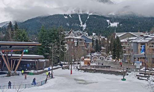 Whistler Olympic Plaza - British Columbia - Kanada