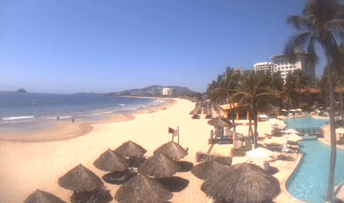 Playa Poniente in Ixtapa - Mexiko